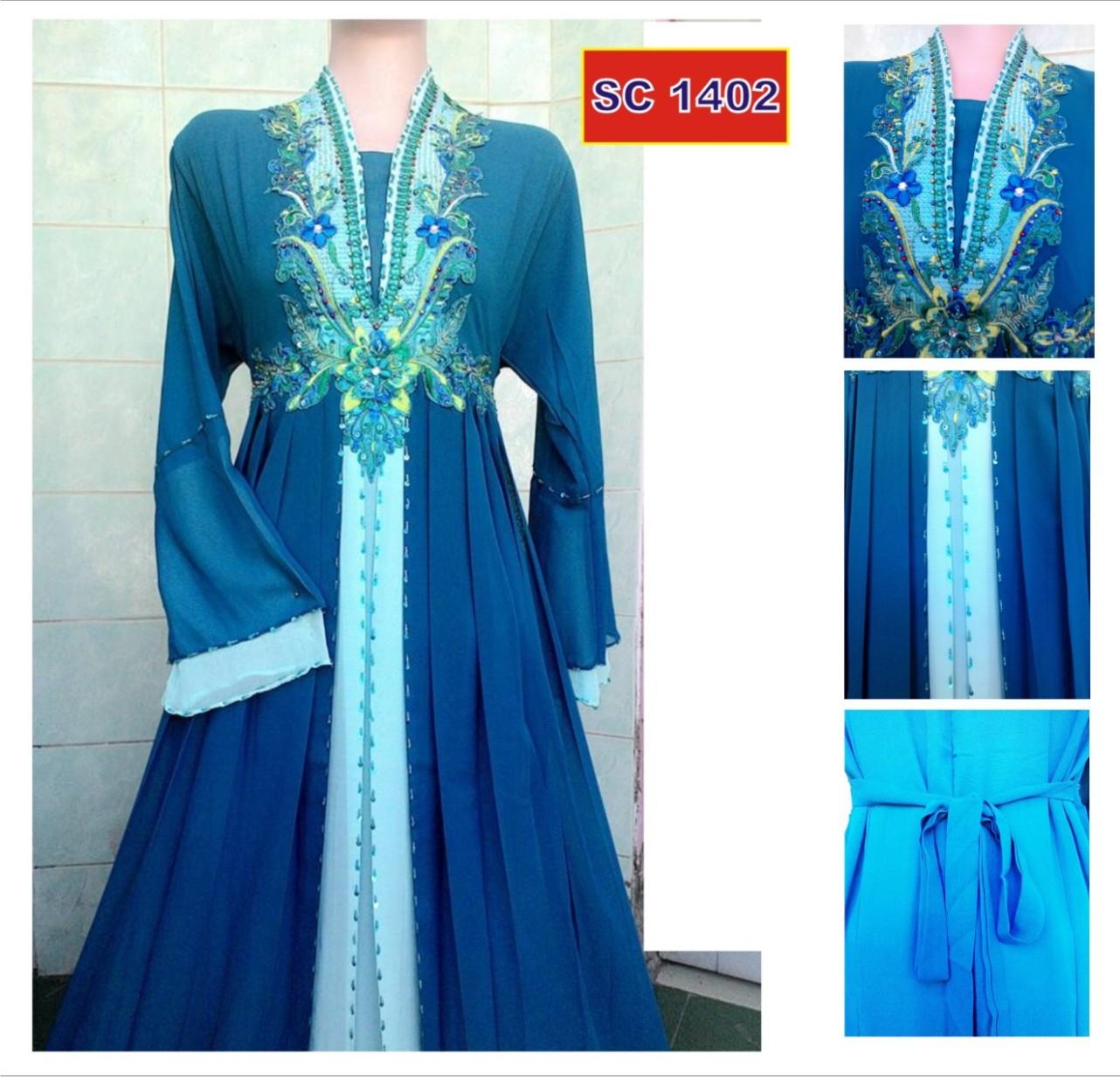 95 Baju Gamis Batik Muslim Modern Terbaru Online Model